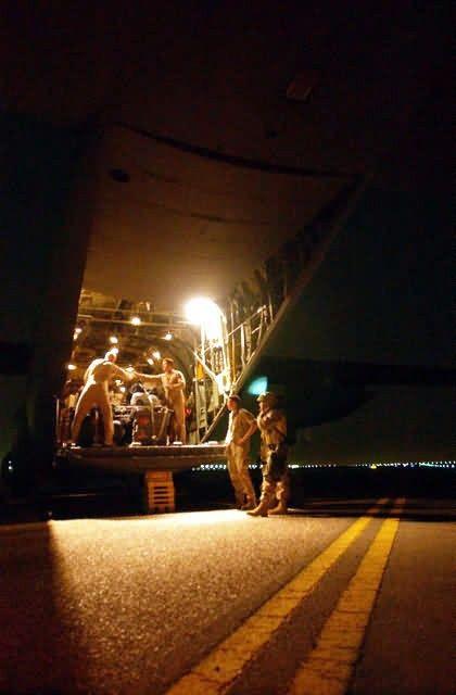 C-130 Hercules - Humanitarian aid Picture