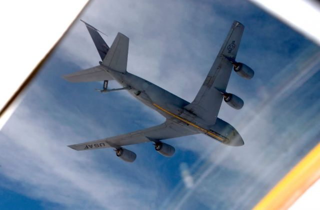 KC-135 - Window view Picture