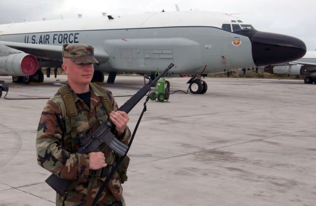 RC-135 - Guarding RJ Picture