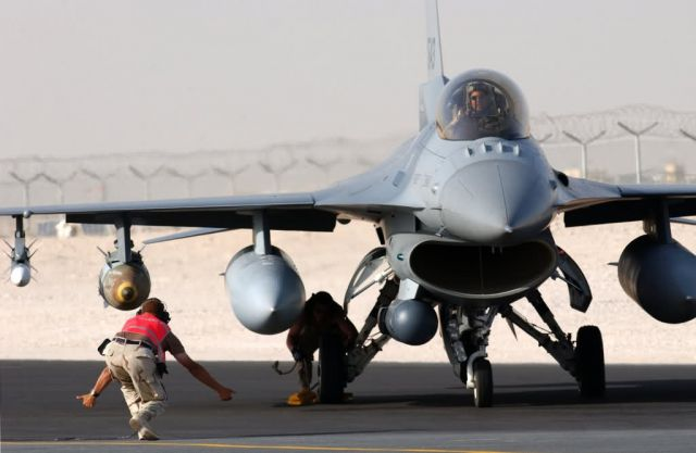 F-16 Fighting Falcon - Combat sortie Picture