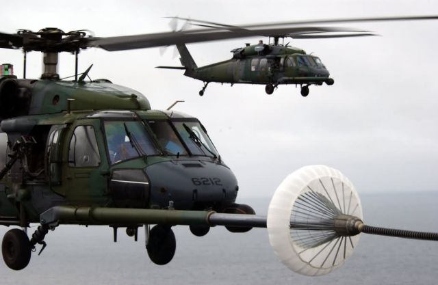 HH-60G Pave Hawk - Fuel for the flight Picture