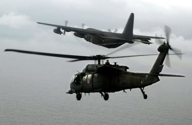 HH-60G Pave Hawk - Refueling mission Picture