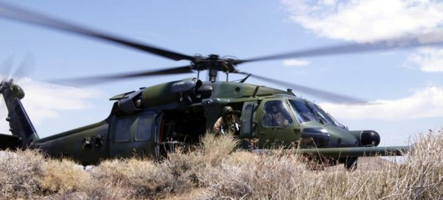 HH-60 Pave Hawk - Waiting in the desert Picture