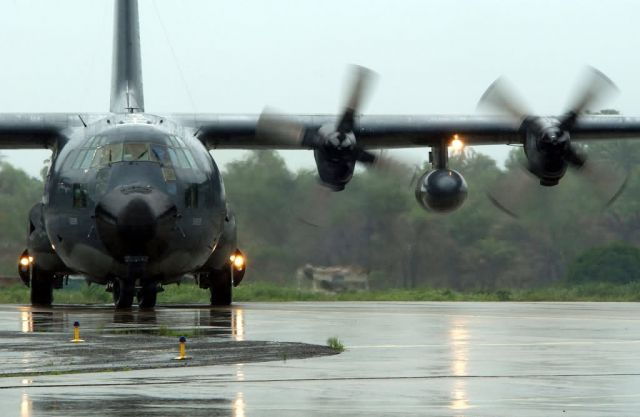 MC-130P - More support in Liberia Picture