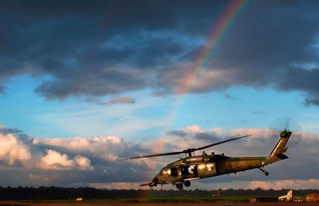 HH-60G Pave Hawk - A ray of hope in a threatening sky Picture