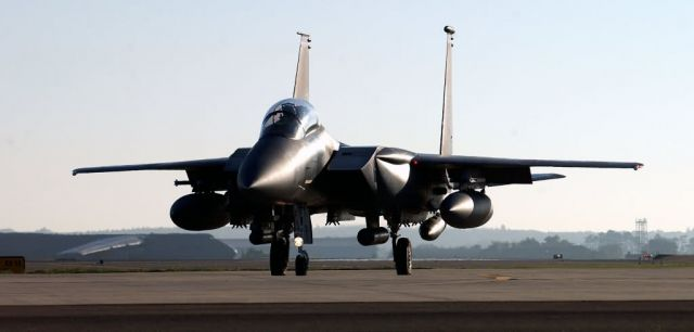 F-15E Strike Eagle - Waiting for my turn Picture