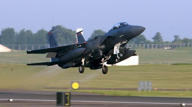 F-15E Strike Eagle - Eagle lift off Picture