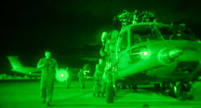 HH-60G Pave Hawk - Low-light operation Picture