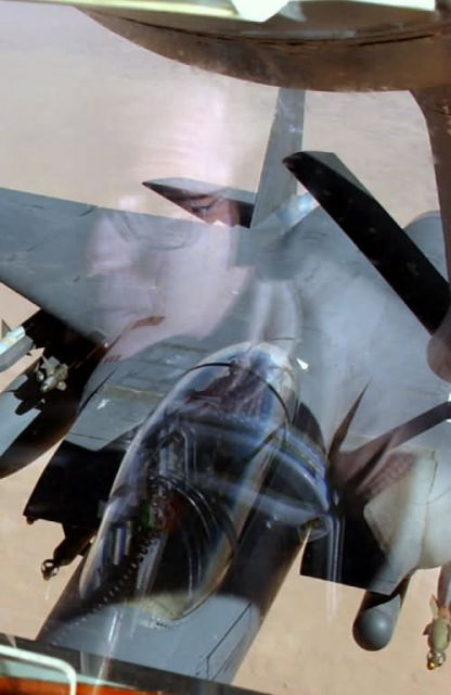 F-15E Strike Eagle - Reflections on refueling Picture