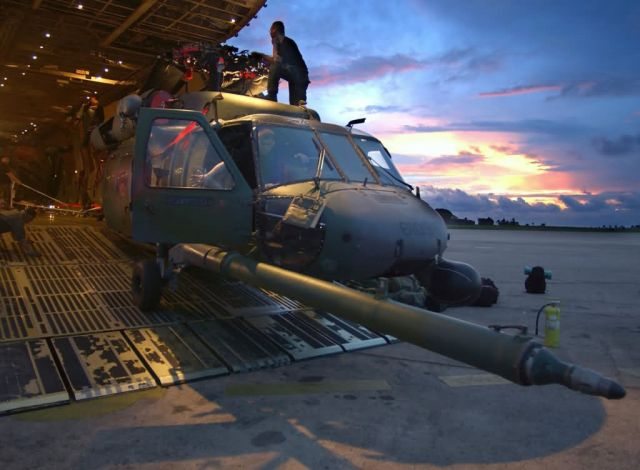 HH-60G Pave Hawk - Daybreak in Africa Picture