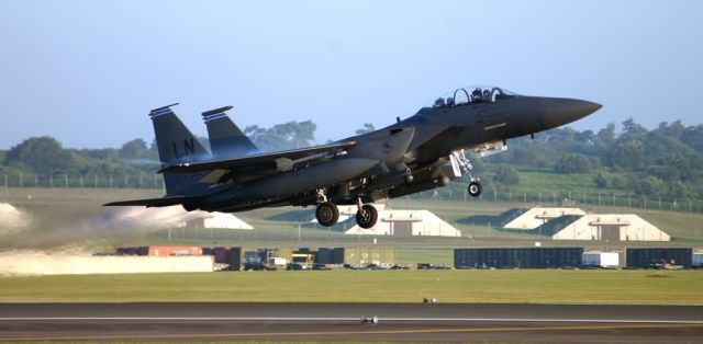 F-15E Strike Eagle - The journey begins Picture