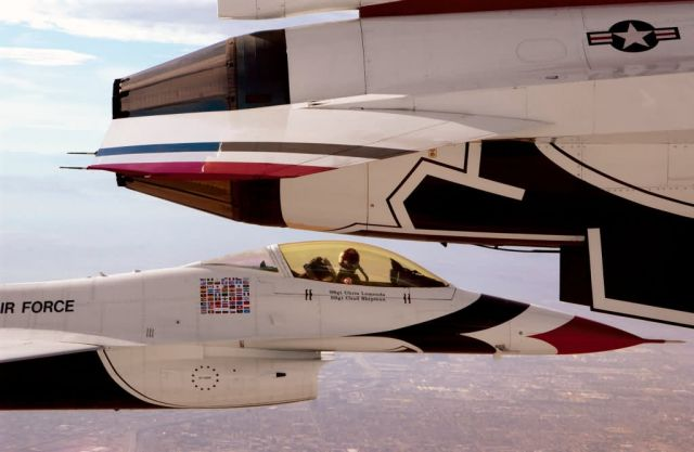 NELLIS AIR FORCE BASE - Wingman Picture