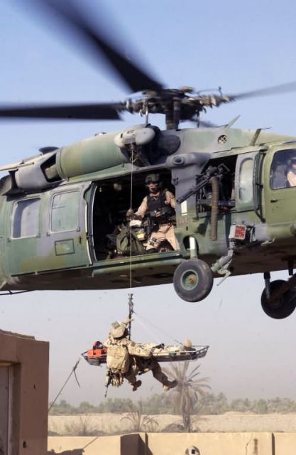 HH-60G Pave Hawk - Airborne extraction Picture