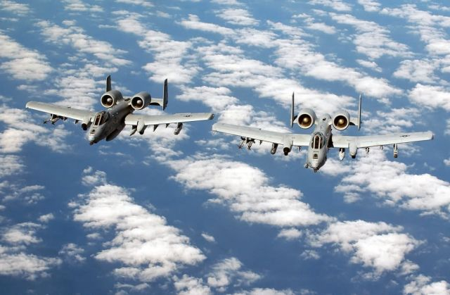 A-10 Thunderbolt II - Pair of