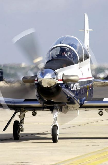 T-6A Texan II - Texan taxis for take off Picture
