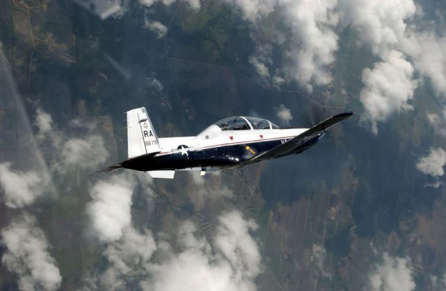 T-6A Texan II - Texan banking Picture