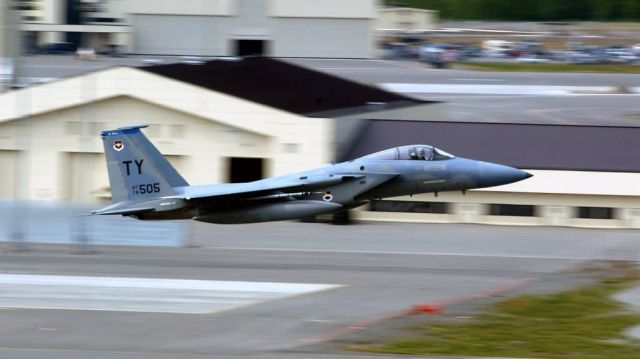 F-15C Eagle - Eagle launch Picture