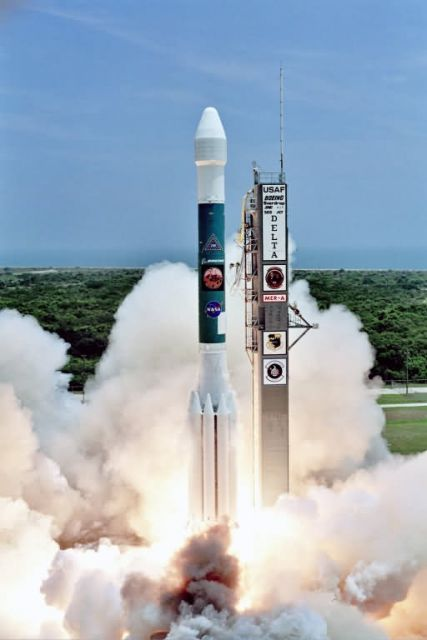 Delta II - Lift off for Mars Picture