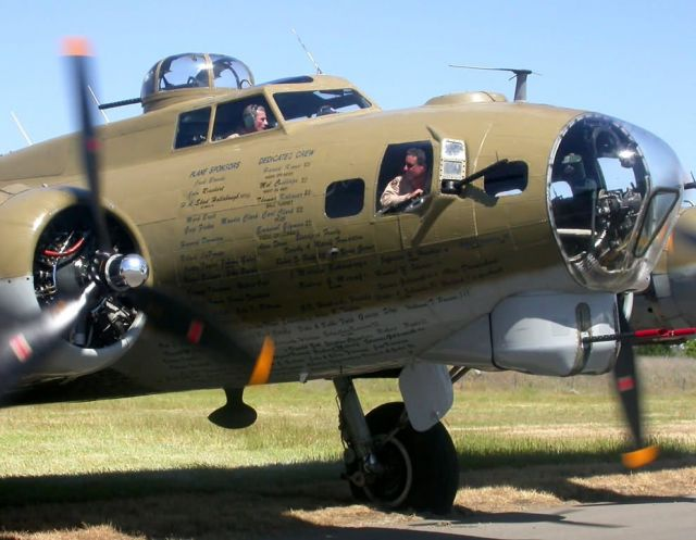 B-17 Flying Fortress - B-17 Picture