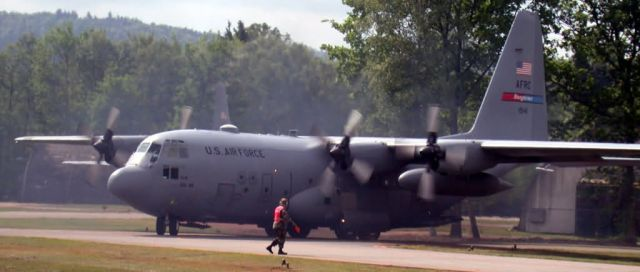 C-130 Hercules - Take off Picture