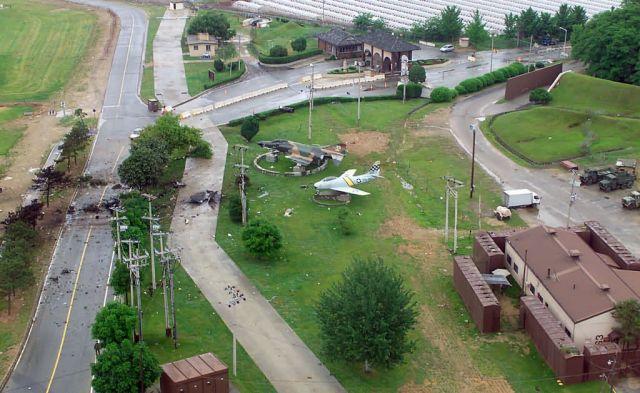 F-16 Fighting Falcon - Crash site Picture