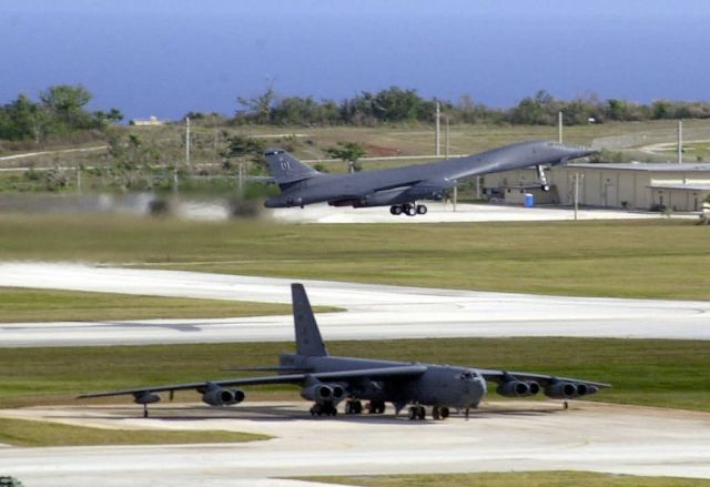 B-1 - Bombers at Guam Picture