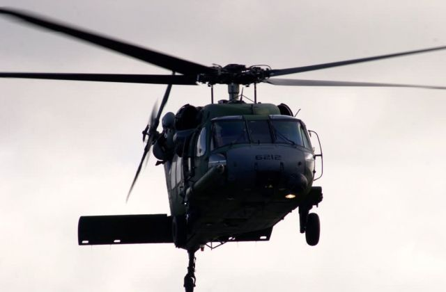 HH-60G Pave Hawk - Hovering Picture