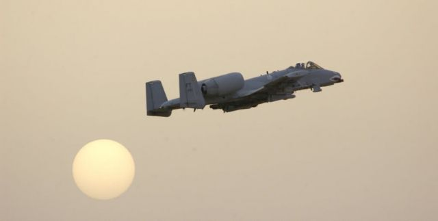 A-10 Thunderbolt II - Thunder over the sun Picture