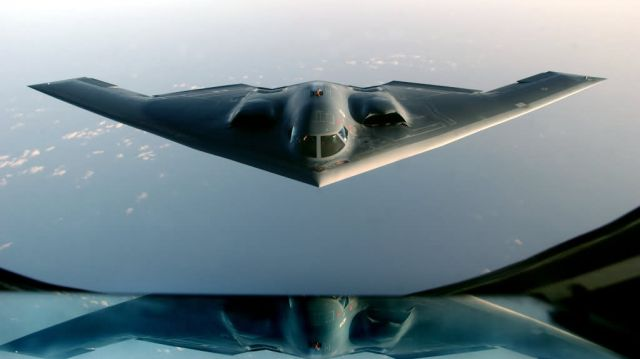 B-2 Spirit - Window seat Picture