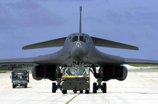 B-1B Lancer - Lancer parking spot Picture