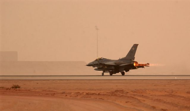 F-16CJ - Another sortie starts Picture