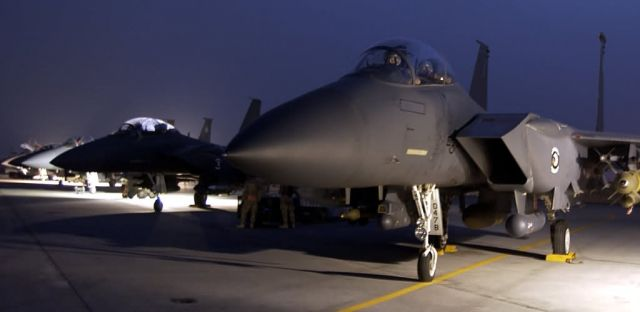 F-15E Strike Eagles - Night missions Picture