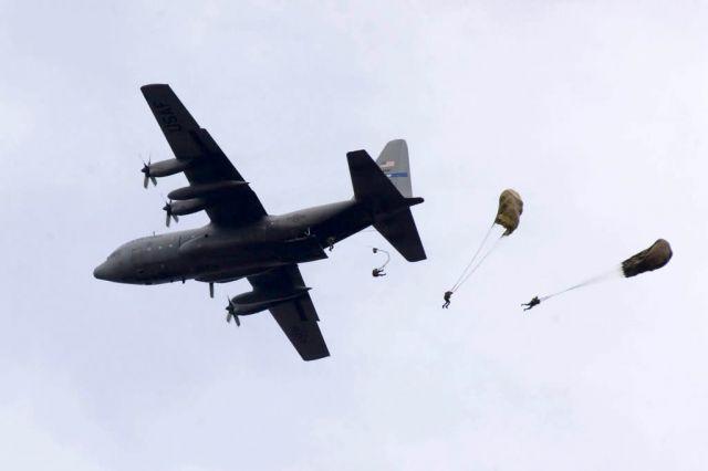 C-130 Hercules - Air drop Picture