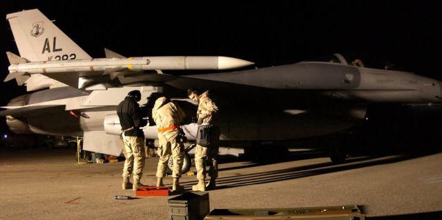 F-16 Fighting Falcon - Falcon talons Picture