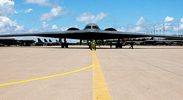 B-2 - B-2 Spirit at rest Picture