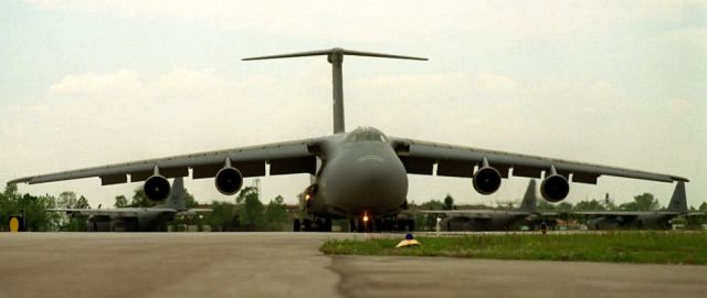 C-5 Galaxy - C-5 launch Picture