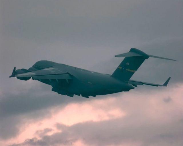 C-17 Globemaster - Departure Picture