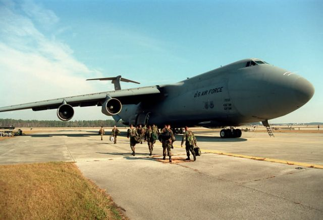C-5 Galaxy - Panama bound Picture