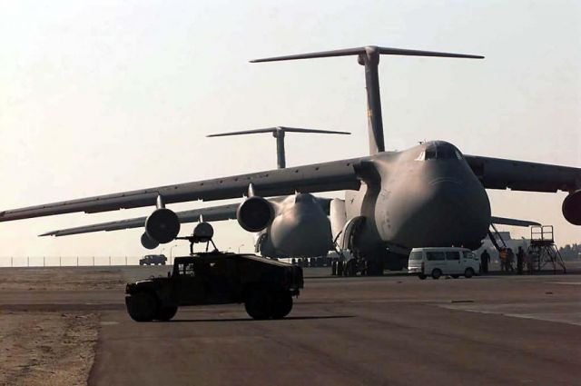 C-5 Galaxy - Twin Galaxies Picture