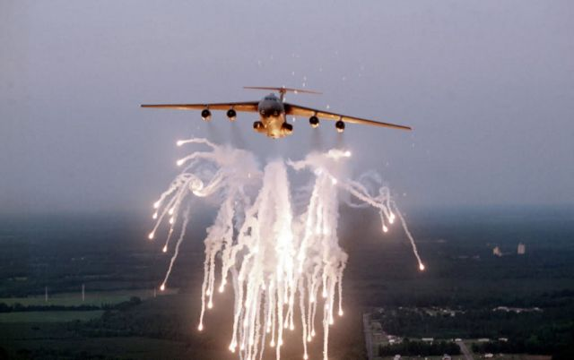 C-141B Starlifter - Fireworks display Picture