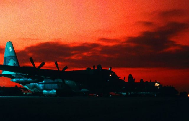 C-130E Hercules - Hercules in the morning Picture