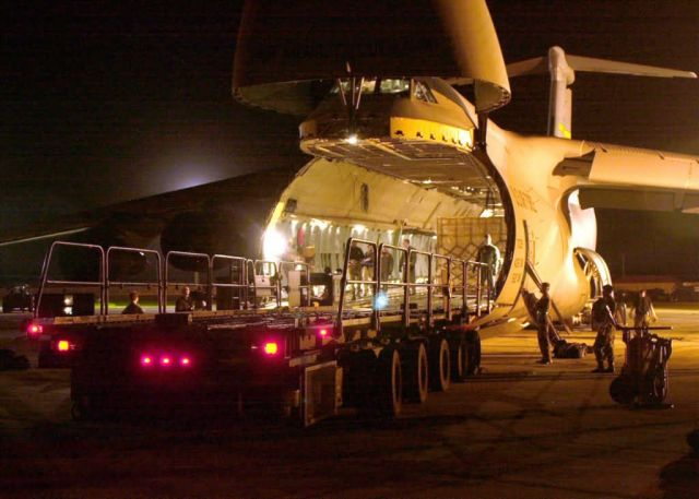 C-5A Galaxy - Indian earthquake relief Picture