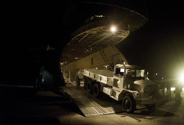 C-5 Galaxy - Earthquake relief Picture