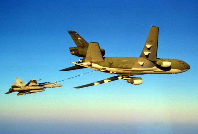 KC-10A Stratotanker - Helping the Marines Picture