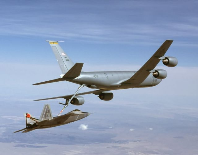 KC-135R Stratotanker - Thirsty Raptor Picture