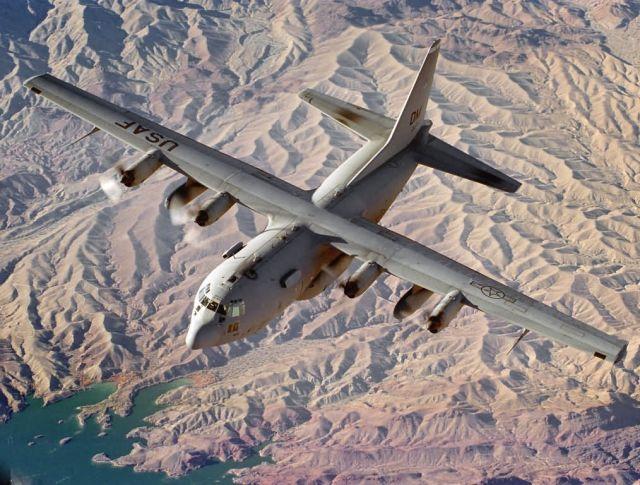 EC-130E - Modified Hercules aircraft Picture