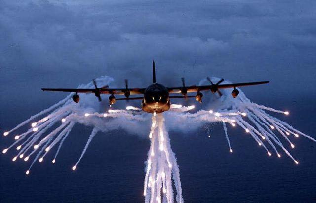 MC-130E Combat Talon I and II - Light show! Picture