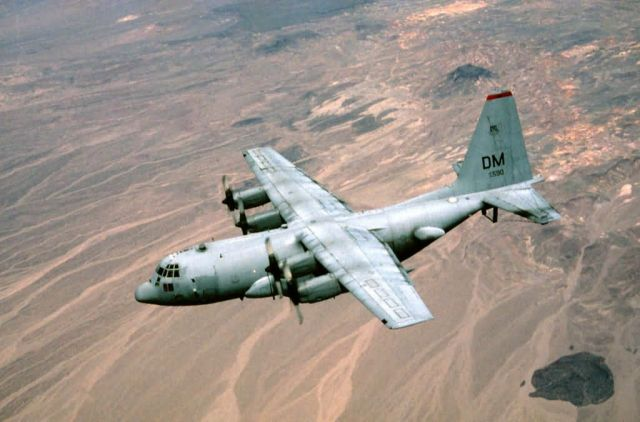 EC-130H Hercules Aircraft - Compass Call Picture