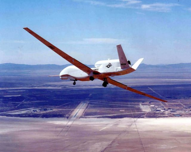 Global Hawk Unmanned Aerial Vehicle Picture