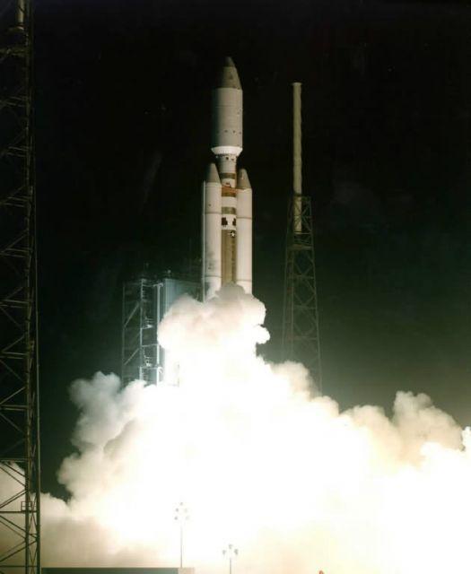 An Air Force Titan IV-B rocket - Patrick AFB Picture